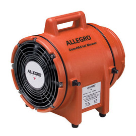 Allegro® COM-PAX-IAL 115 V 3 A 1/3 hp 831 CFM Polyethylene DC SubmersibleAC Explosion Proof Blower Without Canister
