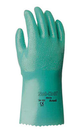 Ansell Size 8 Green Sol-Knit® 14