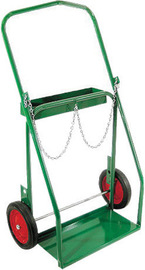 Anthony Welded Products Low Rail Design Dual Cylinder Cart With 14