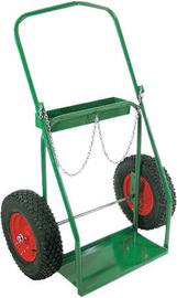 Anthony Welded Products Low Rail Design Dual Cylinder Cart With 16