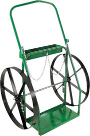 Anthony Welded Products Low Rail Design Dual Cylinder Cart With 24