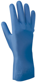 SHOWA® Size 10 Nitri-Dex® Nitrile Fully Coated Work Gloves With Cotton Flock Liner And Rolled Cuff