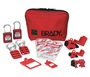 Brady® Red Nylon Lockout Pouch