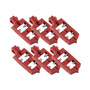 Brady® Red Nylon Lockout (6 ea)
