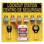 Brady® Yellow Acrylic Prinzing® Lockout Station