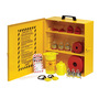 Brady® Yellow Metal Prinzing® Lockout Station