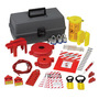 Brady® Gray Polyethylene Prinzing® Lockout Kit