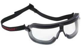 3M™ Fectoggles™ Dust Goggles With Black Frame And Clear Anti-Fog Lens