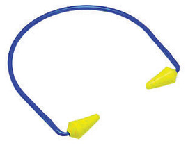 3M™ E-A-R™ CABOFLEX™ Blue And Yellow Multi Position Banded Earplugs