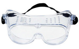 3M™ Impact Goggles With Clear Frame And Clear Anti-Fog Lens