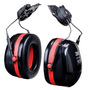 3M™ Optime™ 105 Red And Black Helmet Mount Earmuffs