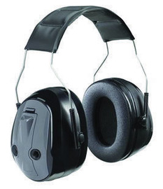 3M™ Peltor™ Black And Gray Over-The-Head Headset