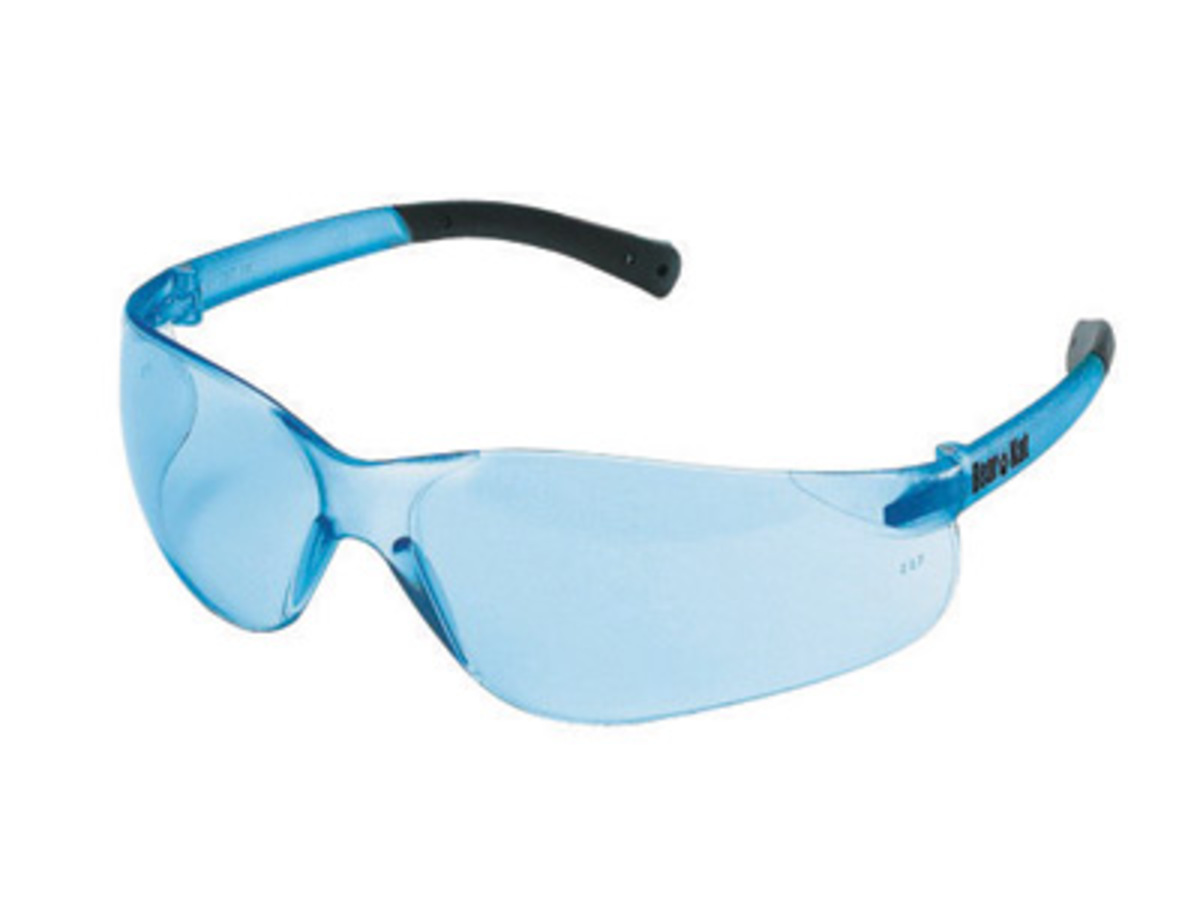 Pale Blue Glasses Frames : Airgas - CREBK213 - Crews BearKat Small Safety Glasses ...