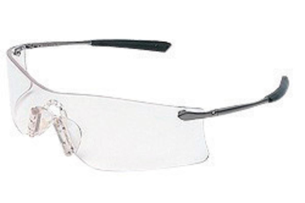 onguard a 2 sg300 prescription safety glasses matte grey metal frame og