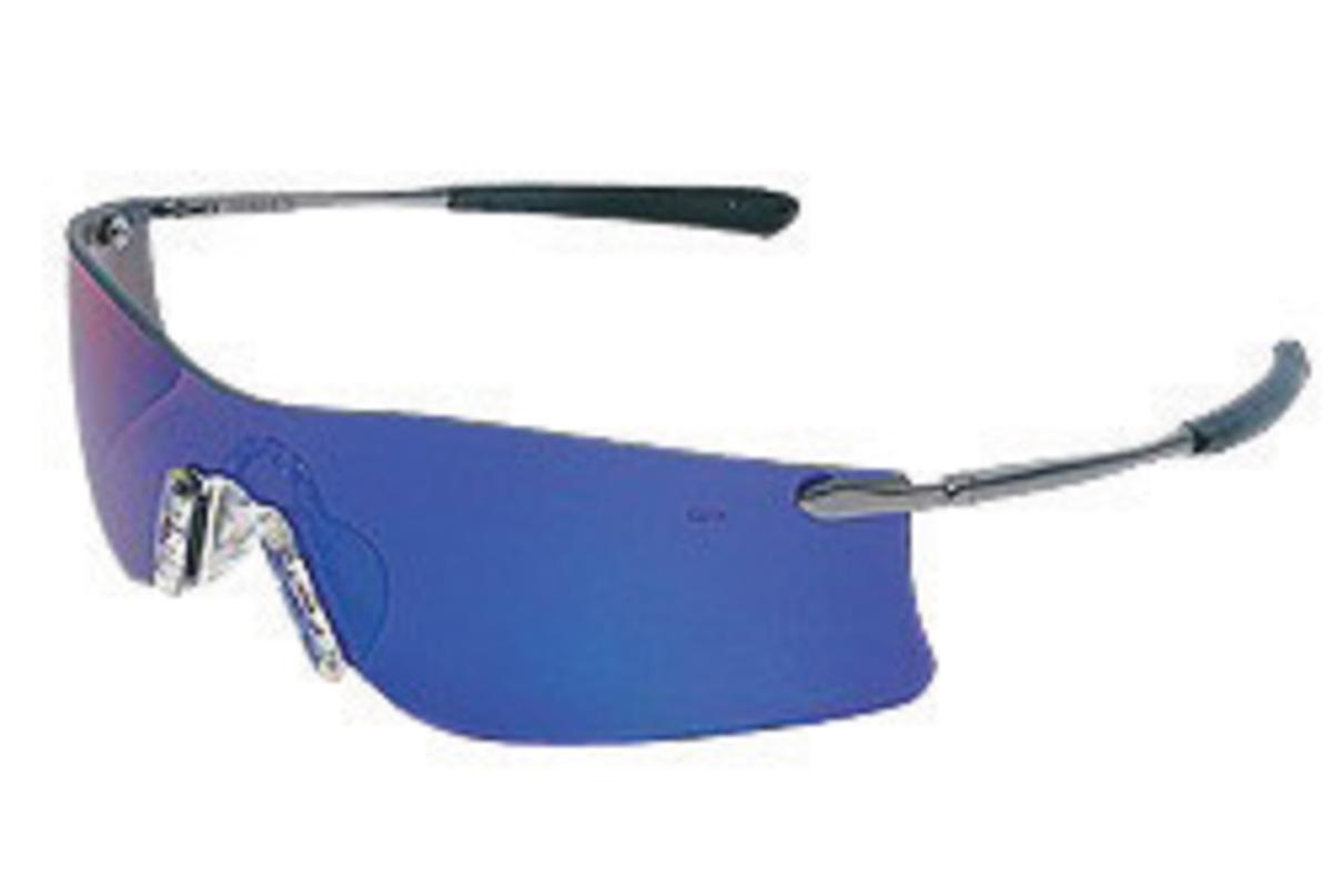 uvex s2451 tomcat metal frame safety glasses gray lens with hardcoat coating