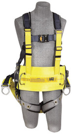 3M™ DBI-SALA® Large ExoFit™ Derrick Full Body/Vest Style Harness With Back D-Ring with 18
