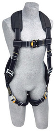 3M™ DBI-SALA® Small ExoFit™ XP Arc Flash Flame Resistant Full Body/Vest Style Harness With Back D-Ring, Comfort Padding, Leather Insulator And Quick Connect Chest And Leg Strap Buckle | Tuggl