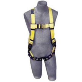 3M™ DBI-SALA® 2X Delta™ No-Tangle™ Full Body/Vest Style Harness With Back D-Ring And Tongue Leg Strap Buckle