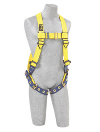 3M™ DBI-SALA® Universal Delta™ No-Tangle Full Body/Vest-Style Harness With Back D-Ring And Tongue Leg Strap Buckle
