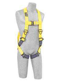 3M™ DBI-SALA® Universal Delta™ No-Tangle™ Full Body/Vest Style Harness With Back And Front D-Ring And Quick Connect Leg Strap Buckle