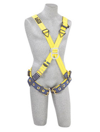 3M™ DBI-SALA® X-Small Delta™ No-Tangle™ Cross Over/Full Body Style Harness With Back And Front D-Ring And Tongue Leg Strap Buckle | Tuggl