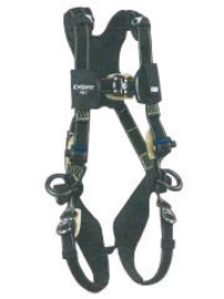 3M™ DBI-SALA® Large ExoFit NEX™ Arc Flash Full Body/Vest Style Harness With Tech-Lite™ PVC Coated Aluminum Back D-Ring, Duo-Lok™ Quick Connect Chest And Leg Strap Buckle, Leather Insulator, Belt Loop And Comfort Padding