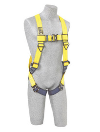 3M™ DBI-SALA® Universal Delta™ No-Tangle™ Full Body/Vest Style Harness With Back D-Ring And Tech-Lite™ Quick Connect Leg Strap Buckle | Tuggl