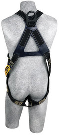 3M™ DBI-SALA® Universal Delta™ Arc Flash No-Tangle™ Full Body/Vest Style Black Harness With PVC Coated Back D-Ring And Pass-Thru Leg Strap Buckle | Tuggl