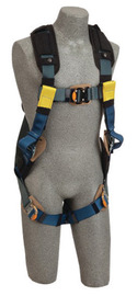 3M™ DBI-SALA® Large ExoFit™ XP Arc Flash Full Body/Vest Style Harness With Back D-Ring, Web Rescue Loops, Quick Connect Chest And Leg Strap Buckle, Leather Insulators And Nomex®/Kevlar® Comfort Padding