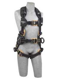3M™ DBI-SALA® X-Large ExoFit NEX™ Arc Flash Construction/Full Body/Vest Style Harness With Tech-Lite™ PVC Coated Aluminum Back And Side D-Ring, Duo-Lok™ Quick Connect Leg And Chest Strap Buckle, Belt With Pad, Torso Adjuster, Back And Leg Comfort Padding