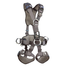 3M™ DBI-SALA® Medium ExoFit NEX™ Full Body Style Harness With Back, Front, Suspension And Side D-Ring, Duo-Lok™ Quick Connect Chest And Leg Strap Buckle, Hybrid Comfort Padding And Equipment Loops