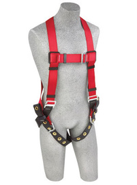 DBI/SALA® Medium/Large Protecta® PRO™ Full Body/Vest Style Harness With Back D-Ring And Tongue Leg Strap Buckle