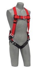 3M™ DBI-SALA® X-Large PROTECTA® PRO™ Welder's Vest Style Harness With Back D-Ring And Tongue Buckle Leg Strap