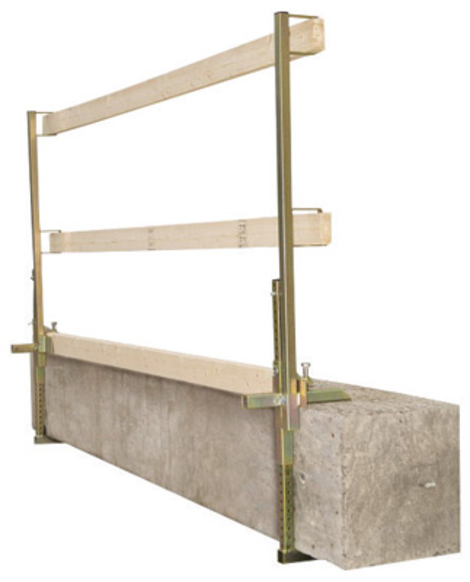 Portable Guardrail Systems : Airgas d m™ dbi sala flexible portable