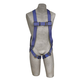 3M™ DBI-SALA® X-Large PROTECTA® FIRST™ Full Body Style 3-Point Blue Harness With Back D-Ring And Pass-Thru Leg Strap Buckle