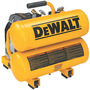 DeWALT® 1.1 HP 3.2 CFM 120 V 60 Hz 14 A 3400 RPM 100 PSI Hand Carry Twin Tank Air Compressor With 4 Gallon Tank