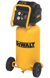 DEWALT® 1.6 HP 5 CFM 120 V 1750 RPM 200 PSI Portable Workshop Oil Free High Pressure Low Noise Air Compressor With 15 Gallon Tank