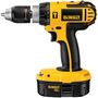 DeWALT® 18 V Ni-Cad 500/1700 RPM Cordless Compact Hammer Drill Kit With 1/2