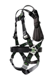 Miller® by Honeywell Small/Medium DualTech™ Revolution™ Full Body Style Harness With Back D-Ring, Quick Connect Chest And Leg Strap Buckle And Sub-Pelvic Strap | Tuggl