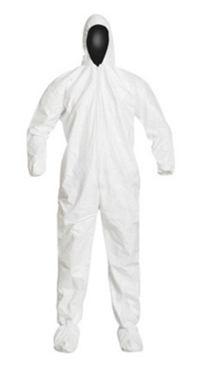DuPont™ Medium White IsoClean® Tyvek® Disposable Coveralls