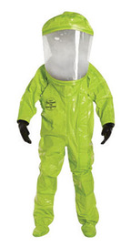DuPont™ X-Large Yellow Tychem® 10000 28 mil Tychem® 10000 Suit