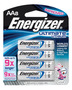 Energizer® Ultimate® e2® 1.5 Volt AA Cylindrical Lithium Battery (8 Per Card)