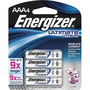 Energizer® Ultimate® e2® 1.5 Volt AAA Cylindrical Lithium Battery (4 Per Card)