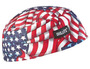 Ergodyne Blue, Red And White Chill-Its® 6630 Hi Cool® Cap