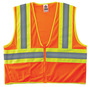 Ergodyne Small - Medium Orange GloWear® 8229Z Polyester/Mesh Vest