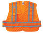 Ergodyne Medium - Large Orange GloWear® 8244PSV Polyester/Mesh Vest