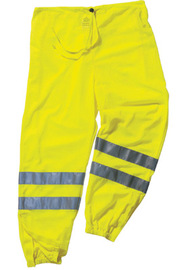 Ergodyne Small - Medium Lime GloWear® 8910 Polyester/Mesh Pants