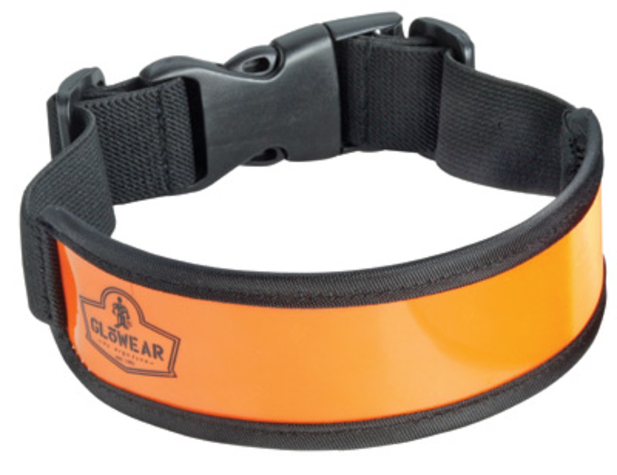 Airgas - E5729031 - Ergodyne® Orange GloWear® 8003 Elastic Arm Leg ...