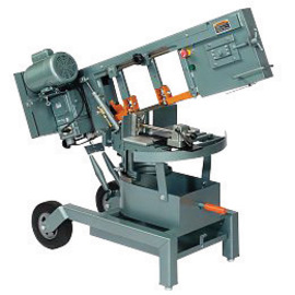 Ellis 70/135/250 fpm Heavy Steel Portable Mitre Band Saw With 10' X 1