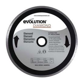 "Evolution® 10"" X 1"" 4400 RPM Metal Cutting Lade | Tuggl"